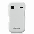 Nillkin Super Matte Hard Cases Skin Covers for Samsung i569 S5660 Galaxy Gio - White (High transparent screen protector)