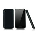 Nillkin Super Matte Hard Cases Skin Covers for Samsung i9008L - Black (High transparent screen protector)