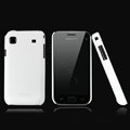 Nillkin Super Matte Hard Cases Skin Covers for Samsung i9008L - White (High transparent screen protector)