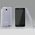 Nillkin Super Matte Rainbow Cases Skin Covers for Samsung E110S Galaxy SII LTE - White (High transparent screen protector)