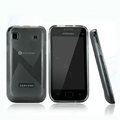 Nillkin Super Matte Rainbow Cases Skin Covers for Samsung i9008L - Black (High transparent screen protector)