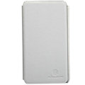 Nillkin leather Cases Holster Covers for Samsung E120L GALAXY S2 SII HD LTE - White (High transparent screen protector)
