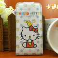 Hello Kitty Chicken Leather case For HTC Incredible S S710E G11 - White