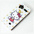 Hello Kitty Chicken Leather case For HTC Pyramid Sensation 4G G14 Z710e - White