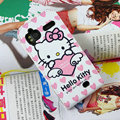 Hello Kitty Heart Lover Leather case For HTC Z715e Sensation XE G18 - Pink
