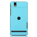 Nillkin Colorful Hard Cases Skin Covers for Motorola XT928 - Blue (High transparent screen protector)