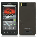 Nillkin Super Matte Hard Cases Skin Covers for Motorola MB810 Droid X - Brown (High transparent screen protector)