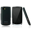 Nillkin Super Matte Hard Cases Skin Covers for Motorola MT870 - Black (High transparent screen protector)