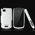 Nillkin Super Matte Hard Cases Skin Covers for Motorola MT870 - White (High transparent screen protector)
