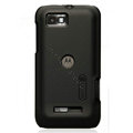 Nillkin Super Matte Hard Cases Skin Covers for Motorola XT535 - Black (High transparent screen protector)