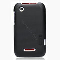 Nillkin Super Matte Hard Cases Skin Covers for Motorola XT550 - Black (High transparent screen protector)