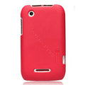Nillkin Super Matte Hard Cases Skin Covers for Motorola XT550 - Red (High transparent screen protector)