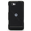 Nillkin Super Matte Hard Cases Skin Covers for Motorola XT681 - Black (High transparent screen protector)