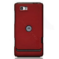 Nillkin Super Matte Hard Cases Skin Covers for Motorola XT681 - Red (High transparent screen protector)