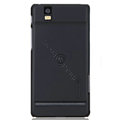 Nillkin Super Matte Hard Cases Skin Covers for Motorola XT928 - Black (High transparent screen protector)