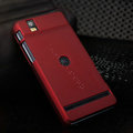 Nillkin Super Matte Hard Cases Skin Covers for Motorola XT928 - Red (High transparent screen protector)