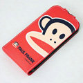 Paul Frank Leather case For HTC Pyramid Sensation 4G G14 Z710e - Red