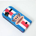 USA Air Force monkey Leather case For HTC Z715e Sensation XE G18 - Blue