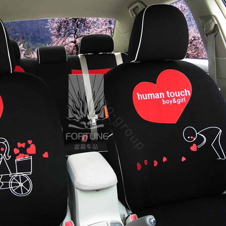 buy wholesale fortune human touch heart bike autos car seat covers for 2006 subaru forester. Black Bedroom Furniture Sets. Home Design Ideas