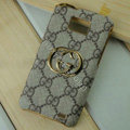 GUCCI covers leather cases Holster Skin for Samsung i9100 i9108 i9188 Galasy S2 SII - Brown