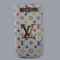 LV Louis Vuitton cover leather cases Holster Skin for Samsung Galaxy SIII S3 I9300 I9308 I939 I535 - Color