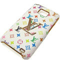LV Louis Vuitton cover leather cases Holster Skin for Samsung i9100 i9108 i9188 Galasy S2 SII - Color