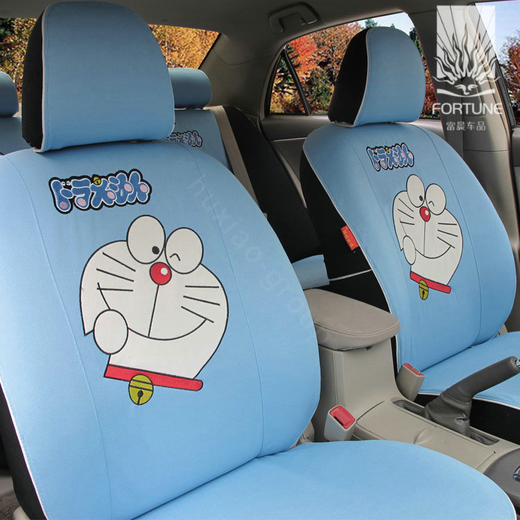 Buy Wholesale FORTUNE Doraemon Autos Car Seat Covers For