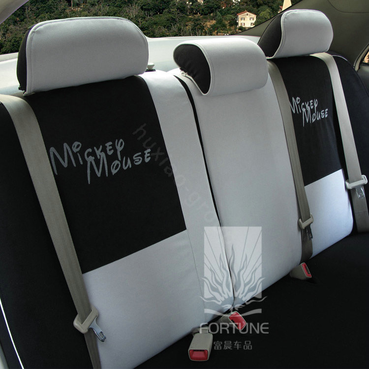 buy wholesale fortune mickey mouse autos car seat covers for 2004 toyota highlander 7 seats. Black Bedroom Furniture Sets. Home Design Ideas