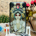 Luxury Painting Actors Hard Cases Skin Covers for HTC X720d One XC - Brown