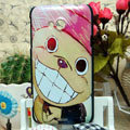 Luxury Painting Chopper Hard Cases Skin Covers for HTC X720d One XC - Pink