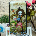 Luxury Painting One piece Hard Cases Skin Covers for HTC X720d One XC - Brown
