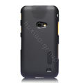 Nillkin Super Matte Hard Cases Skin Covers for Samsung i8530 Galaxy Beam - Black (High transparent screen protector)