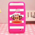 Paul Frank TPU Soft Cases Skin Covers for Samsung i8530 Galaxy Beam - Rose