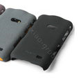 ROCK Quicksand Hard Cases Skin Covers for Samsung i8530 Galaxy Beam - Black