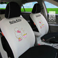 FORTUNE Hello Kitty Autos Car Seat Covers for 2012 Toyota RAV4 - Apricot