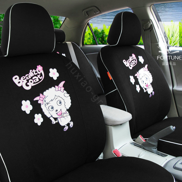 buy wholesale fortune pleasant happy goat autos car seat covers for honda accord lx sedan. Black Bedroom Furniture Sets. Home Design Ideas
