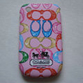 Coach Painting Hard Cases Skin Covers for BB BlackBerry 8520 - Pink