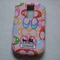 Coach Painting Hard Cases Skin Covers for BB BlackBerry 9000 - Pink