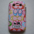 Coach Painting Hard Cases Skin Covers for BB Blackberry Bold 9700 - Pink