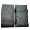 Leather Cases Luxury Holster Covers for LG P880 Optimus 4X HD - Black