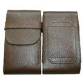 Leather Cases Luxury Holster Covers for LG P880 Optimus 4X HD - Brown