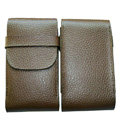 Leather Cases Luxury Holster Skin Covers for LG P880 Optimus 4X HD - Brown