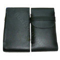 Luxury Leather Cases Holster Covers for LG P880 Optimus 4X HD - Black