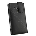 Luxury Leather Cases Holster Covers for Sony Ericsson LT26w Xperia acro S - Black