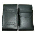 Luxury Leather Cases Holster Skin Covers for LG P880 Optimus 4X HD - Black