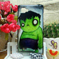 Luxury Painting The Incredible Hulk Hard Cases Skin Covers for LG P880 Optimus 4X HD - Green