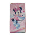 Minnie Mouse Leather Cases Holster Covers for HTC Incredible S S710E G11 - Pink