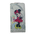 Minnie Mouse Leather Cases Holster Covers for HTC Incredible S S710E G11 - Red