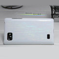 Nillkin Dynamic Color Hard Cases Skin Covers for LG P880 Optimus 4X HD - White (High transparent screen protector)