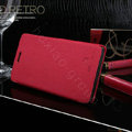 Nillkin England Retro Leather Case Covers for LG P880 Optimus 4X HD - Red (High transparent screen protector)